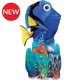 "Foil Balloon - Airwalker - Finding Dory - 31""x55"""