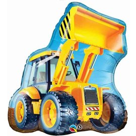 Foil Balloon - Construction Loading Truck - 32""