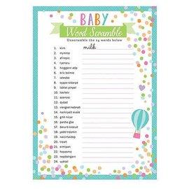 Baby Word Games-24pcs