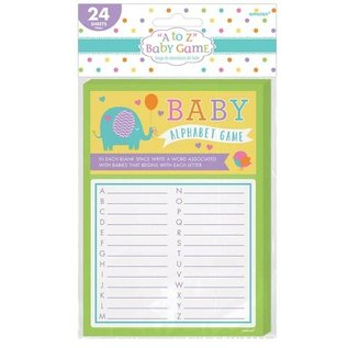 """""""A to Z"""" Baby Game-24pcs"""