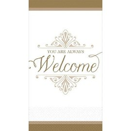 Guest Towel-Welcome Reception (Discontinued)-16pk-1ply