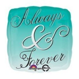 Foil Balloon - Always & Forever - 17""