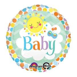 "Foil Balloon - Baby - 17"""