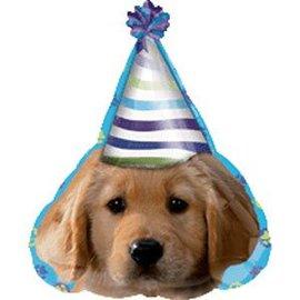 "Foil balloon - Puppy - 23"""