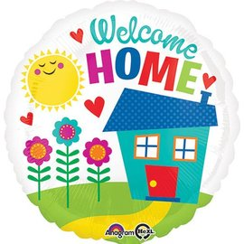 """Foil Balloon - Welcome Home - 17"""""""