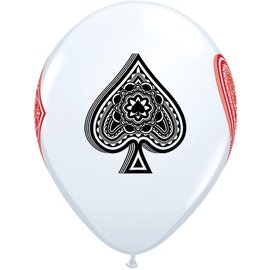 "Latex Balloon - Card Suite (12"") -1pc"