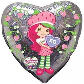 Foil Balloon - Strawberry Shortcake - 18""
