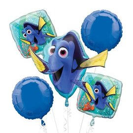Foil Balloon - Bouquet - Finding Dory - 5pc