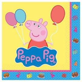 Napkins - BEV - Peppa Pig - 16pk-2ply