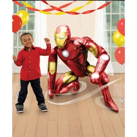 Foil Balloon - Airwalker - Iron Man - 46""
