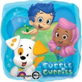 Foil Balloon - Bubble Guppies - 17""