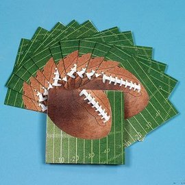 Napkins - LN - Game Day Football - 16pc