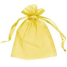 Organza Bag - Gold (Discontinued)