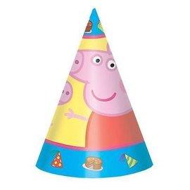 Hats Paper Peppa pig 8Pk