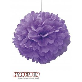 """Puff Ball-Lilac-Paper-16"""""""