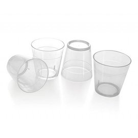 Plastic Shot Glass 1 OZ. 40 PK