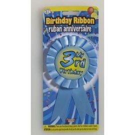 My 3rd Birthday Ribbon