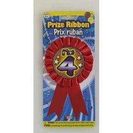 I'm 4 Birthday Ribbon