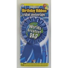 World's Greatest Dad Ribbon