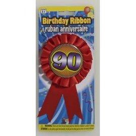 90 Birthday Ribbon