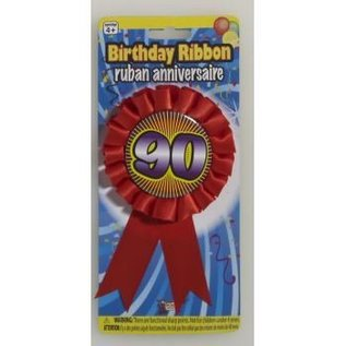 90 Birthday Ribbon
