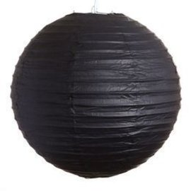 "Paper Lantern-Black 16"""