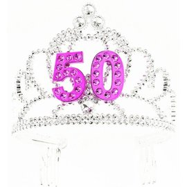 Tiara 50th Birthday