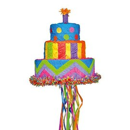 Pinata - Birthday Cake - 1pc