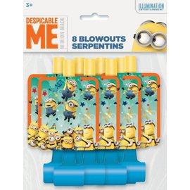 Despicable Me Blowouts 8pk