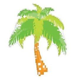 """Foil Balloon-Giant Palm Tree 33"""""""