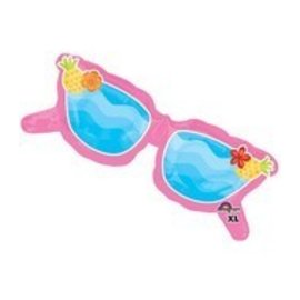 """Foil Balloon-Giant Pink Sunglasses 37"""""""
