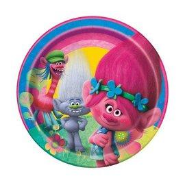 Trolls BEV Plates 8pk