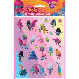 Trolls Stickers 80pk