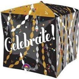 "Foil Balloon-Celebrate Cube 15"""