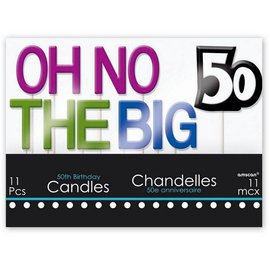 Candles - The Big 50 - 11pc