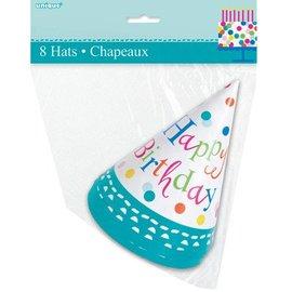 Hats-Confetti Cake-8pk