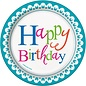 Plates-BEV-Confetti Cake Birthday-8pk-Paper