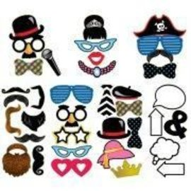 Photo Booth Props-Value Pack-60pcs