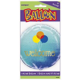 Foil Balloon - Welcome Balloons - 18""