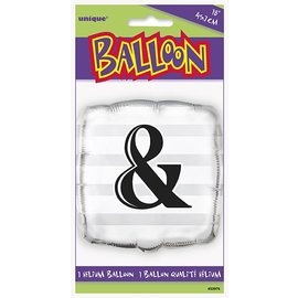 Foil Balloon - & Square - 18""