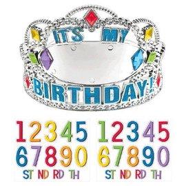 Tiara Personalizable - Rainbow Birthday