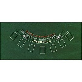 Black Jack Table Cover