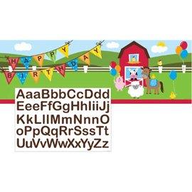 Giant Party Banner - Farmhouse Fun - 1 Banner