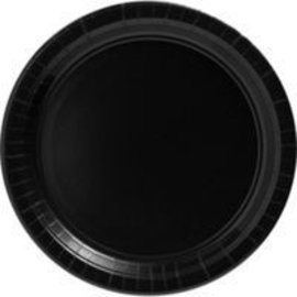 Paper Plates Beverage - Black Velvet (24 Plates)