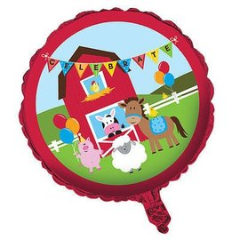 "Foil Balloon - 18"" - Farmhouse Fun"