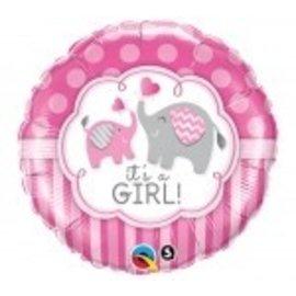 "Foil Balloon-It' a Girl 18"""