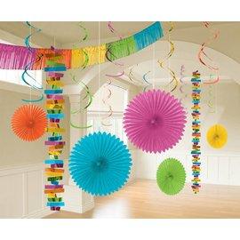 Foil and Paper Decorations Kit - Multi Colour