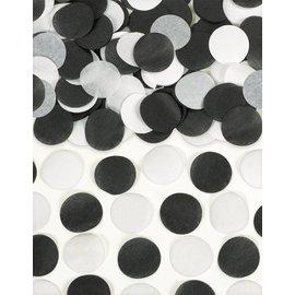 Paper Confetti-Black and White-0.8oz