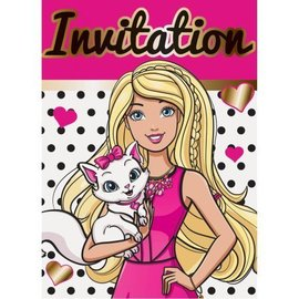 Invites - Barbie