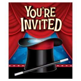 Invites - Magic Party